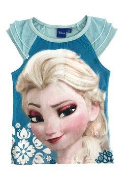 Tricou cu tull, Frozen, albastru deschis