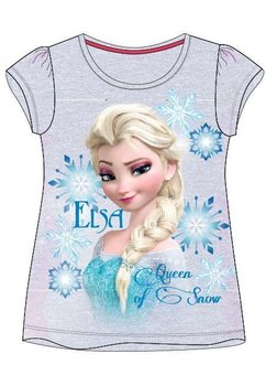 Tricou Elsa, Queen of snow, gri