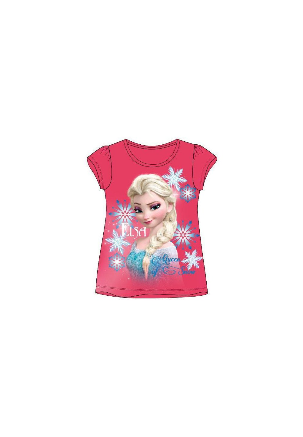 Tricou Elsa, Queen of snow, roz imagine