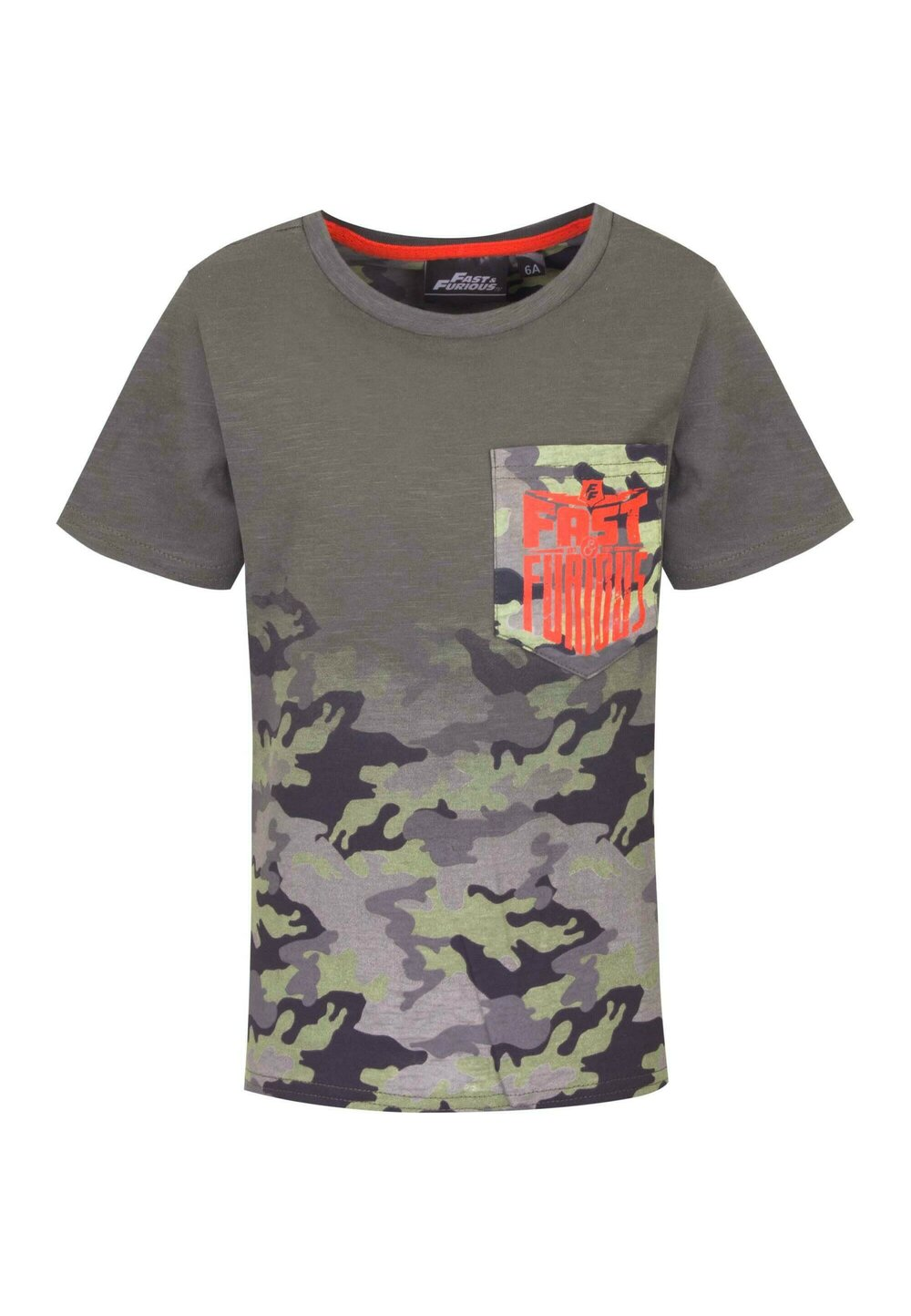 Tricou, Fast and Furious army, verde imagine