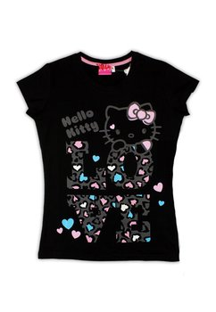 Tricou femei, Hello Kitty, negru