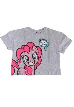 Tricou fete, Hey Pony, gri