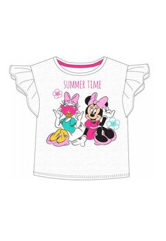 Tricou fete, Minnie and Dasy, alb