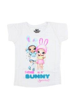 Tricou fete, Nana, Some Bunny special, alb
