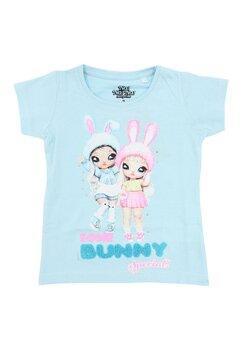 Tricou fete, Nana, Some Bunny special, albastru