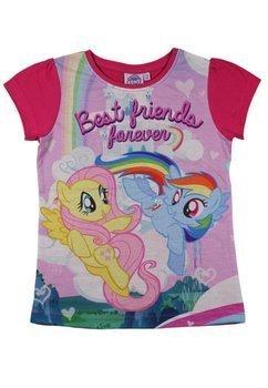 Tricou fete, Pony roz, best frends