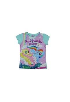 Tricou fete, Pony turcoaz, best frends