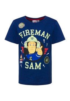 Tricou Fiereman Sam, bluemarin