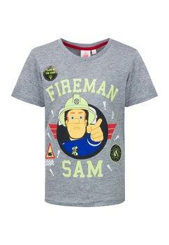 Tricou Fiereman Sam, gri