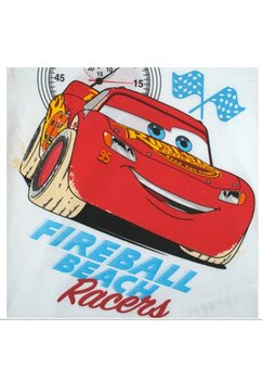 Tricou, Fireball Beach Racers, alb