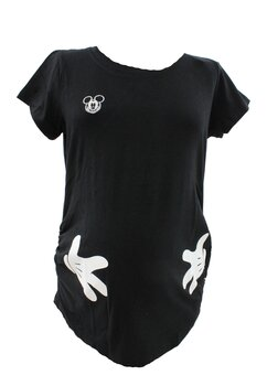 Tricou gravide, Mickey Mouse, negru