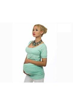 Tricou gravide, turcoaz