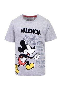 Tricou gri, Valencia, Mickey Mouse