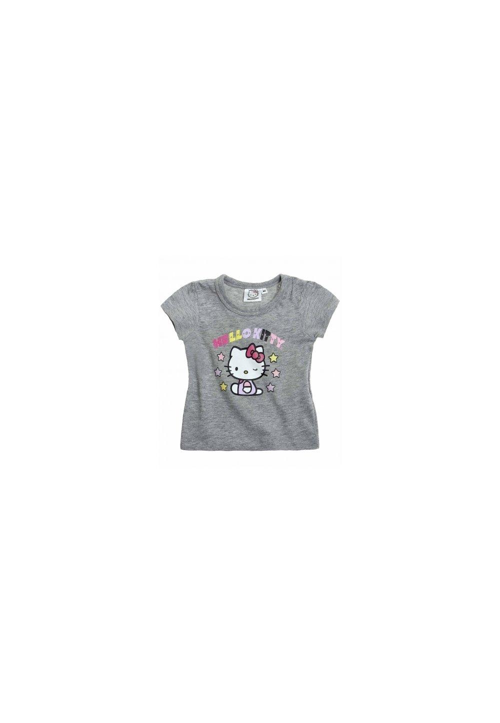 Tricou Hello Kitty gri 9113 imagine
