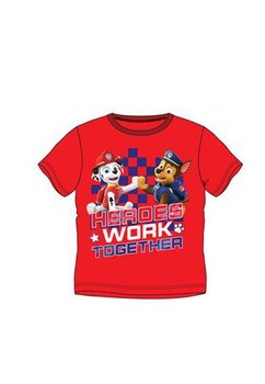 Tricou, Heroes work together, rosu