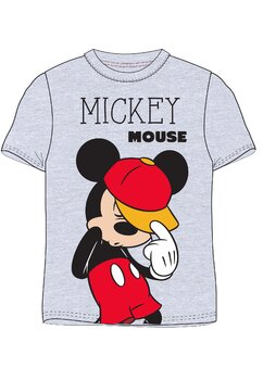 Tricou, Hey Mickey, gri