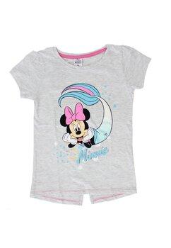 Tricou maneca scurta, Minnie sirena, roz