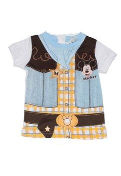 Tricou albastru Mickey 8661