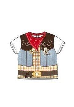 Tricou rosu Mickey 8661