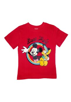 Tricou, Mickey Best Pals, rosu
