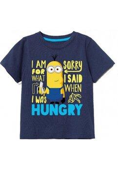 Tricou, Minioni, bluemarin cu galben