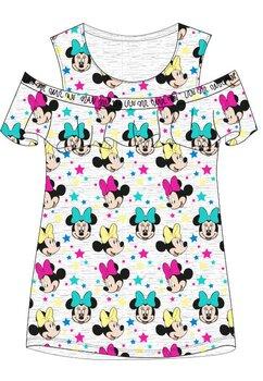 Tricou, Minnie Mouse, gri cu stele