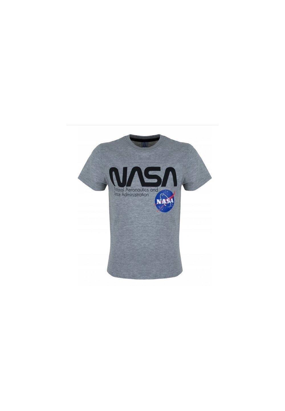 Tricou, Nasa National, gri imagine