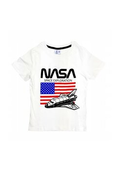 Tricou, Nasa Space, alb