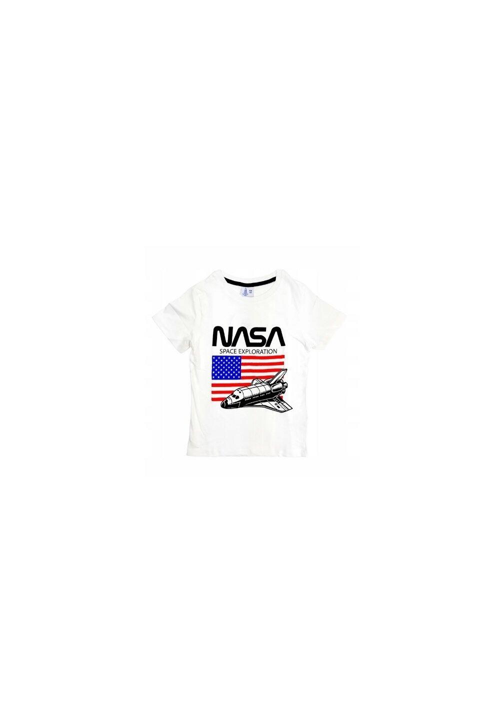 Tricou, Nasa Space, alb imagine
