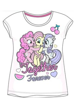Tricou, Pony, Together forever, alb