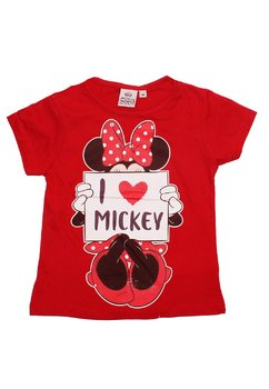 Tricou rosu, I love Mickey