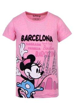 Tricou roz, Barcelona, Minnie Mouse