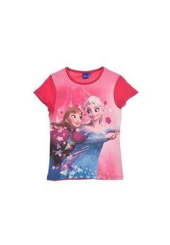 Tricou, roz cu stelute, Elsa si Anna