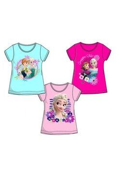 Tricou roz inchis, Anna si Elsa