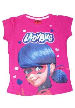 Tricou roz, Ladybug