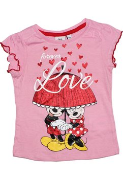 Tricou roz Minnie Mouse, Forever Love