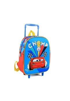 Troller, Cars 3D, Champ albastru, 25x10x34 cm