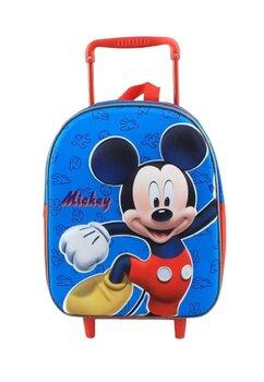 Troller, Mickey 3D, albastru, 25 x 10 x 34 cm
