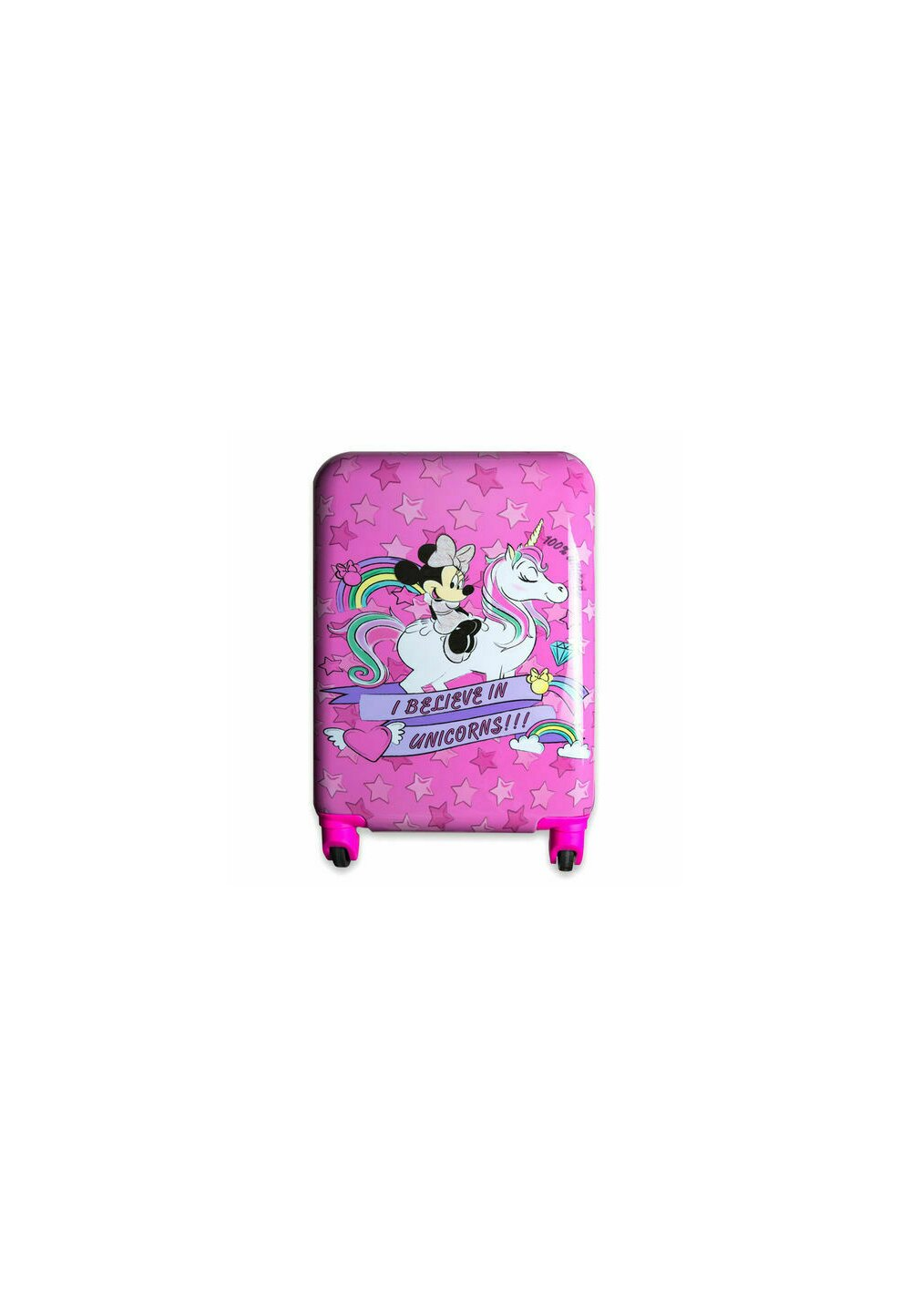 Troller pentru calatorii, I believe in unicorns, roz imagine