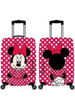 Troller pentru calatorii, Minnie Mouse, rosu