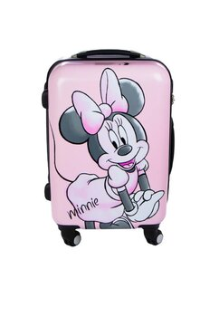 Troller pentru calatorii, Minnie Mouse, roz, 48 x 33 x 20 cm