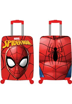 Troller pentru calatorii, Spider-Man, rosu