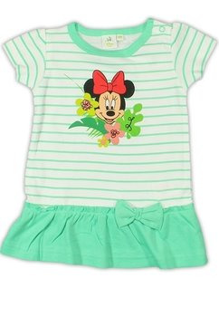 Tunica bebe Minnie Mouse, verde