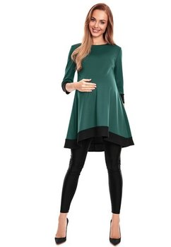 Tunica, asimetrica, verde