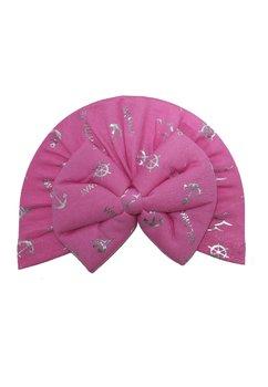 Turban, roz cu ancore