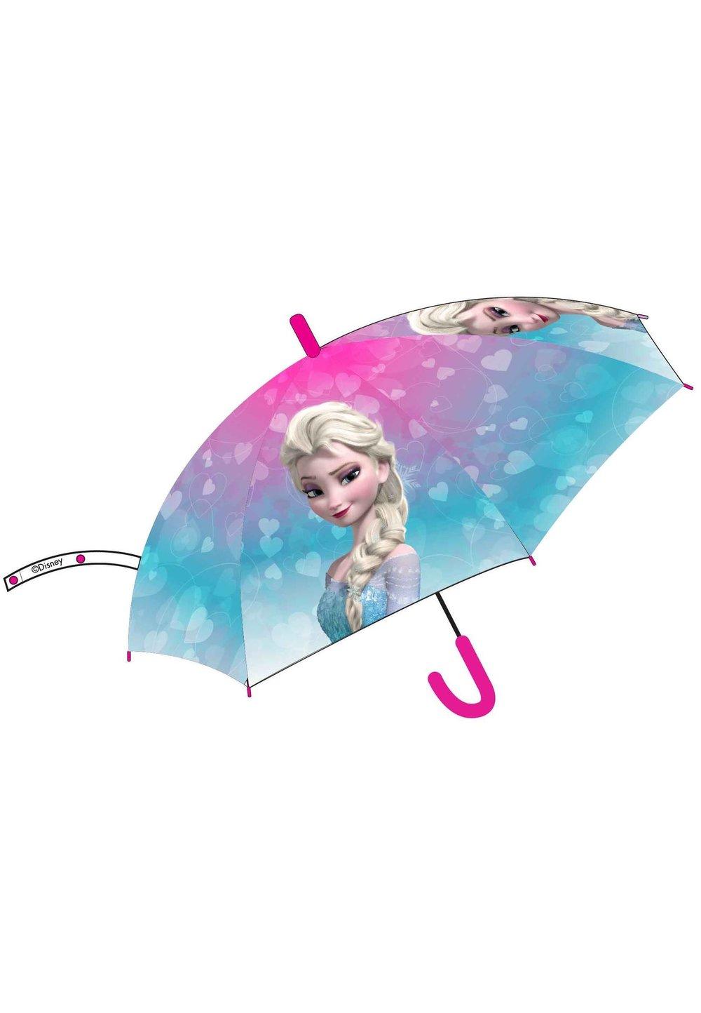 Umbrela automata, Frozen, turcoaz cu roz imagine