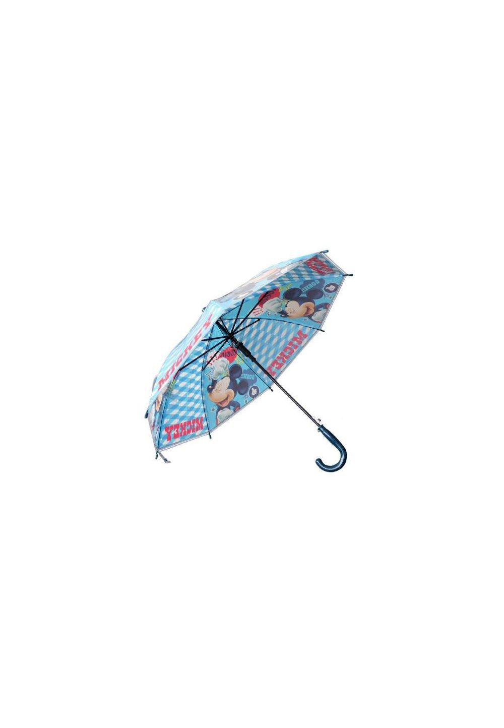 Umbrela automata, Mickey Mouse, albastra imagine