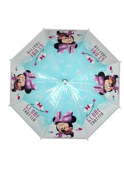 Umbrela automata, Minnie, turcoaz