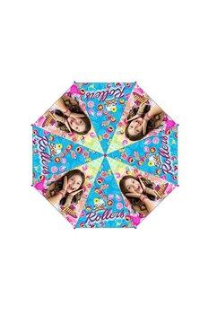 Umbrela automata Soy Luna, roz, Rollers