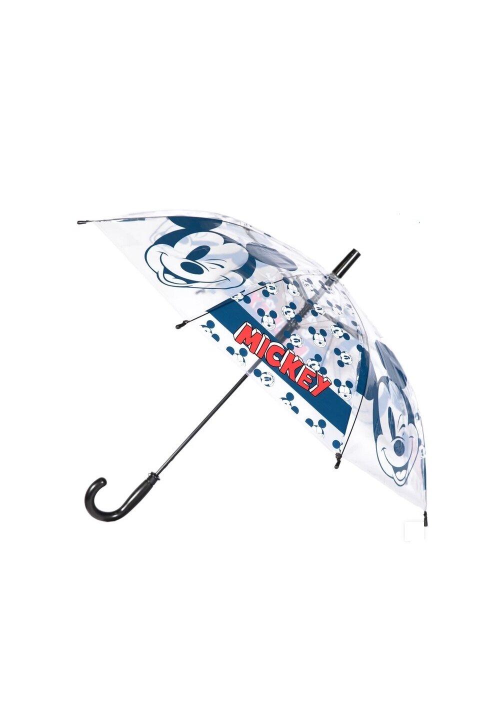 Umbrela baieti, Mickey Mouse, transparenta, bluemarin imagine